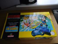 Super Nintendo Console Super Mario Allstars Boxed Fantastic Condition!