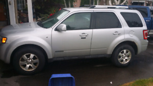2008 Ford escape limited V6