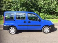 Fiat Doblo 1.9 Multijet Active 5dr NEW MOT , 58 MPG POSSIBLE 2006, Estate
