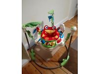 Fisher Price Rainforest Jumperoo in excellent condition with box and instructions