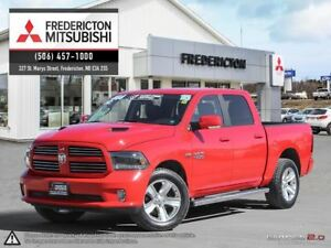 2015 Ram 1500 SPORT! REDUCED! HEATED/COOLED LEATHER!