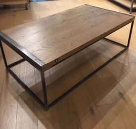 Extra large oak coffee table
