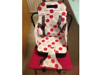 Used Polar Bear portable baby booster seat for feeding