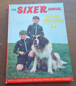 The Sixer Annual For All Wolf Cubs 1966
