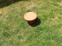Pepper pot clay chimney cap