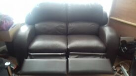 3 piece leather sofa absolute bargain.
