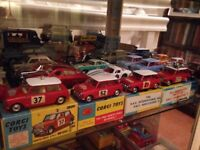 WANTED corgi dinky matchbox spot on BEST prices paid for mint boxed models