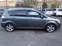 Toyota Corolla Verso T180 D4D. 2006 Grey Diesel. 2 former keepers