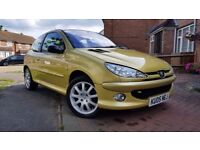 Peugeot 206 GTi - Full Service History - Just been serviced - Very clean example