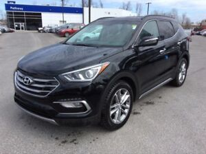 *** 2013 Hyundai Santa Fe Sport Black *** WARRANTY TO 200,000 KM