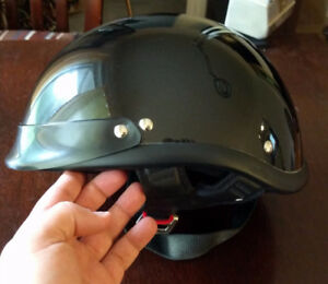 DOT approved open face motorcycle helmet