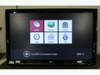 """LG 47"""" LCD TV FREEVIEW HDMI SCART CAN DELIVER"""