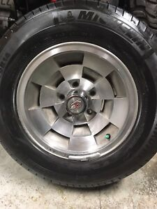 Monte Carlo rims and tires