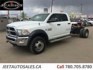 2014 Dodge Ram 5500 SLT 4X4 Deck Goose Hitch 6.7L Cummins Diesel