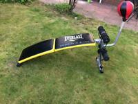 Everlast work out bench