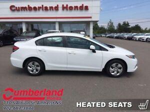 2013 Honda Civic LX  - Bluetooth -  Heated Seats -  Steaming Aud