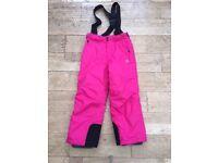 Girls ski trousers