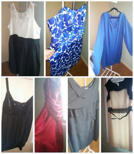 Plus size coctail and casual dresses