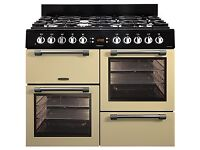 Brand NEW GAS LEISURE Cookmaster CK100G232 100 cm Gas Range Cooker - Cream & Chrome PRP £999 GRADED