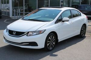 2014 Honda Civic EX*AC*BLUETOOTH*CRUISE*CAM*SIEGES CHAUFF*GR ELE