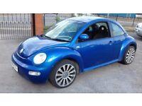 Volkswagen Beetle 2001 petrol 1.6 manual