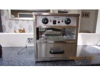 Brand new potato oven with bain marie new in box