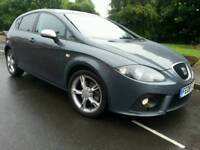 2008 SEAT LEON FR 2.0 TDI 170-BHP*FSH*PRISTINE CONDITION*#CUPRA#BMW#GOLF#AUDI
