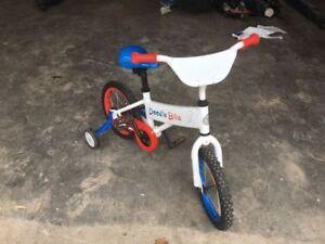 "14"" Boys Doodle Bike New"