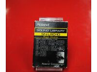 Roland SN-U110-10 Rock Drums Sound Library PCM Data ROM £50
