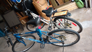 Men's and Women's bikes, $80 each