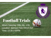 Earlsfield FC Trials - Big Intake of New Football Players! Wandsworth Balham Tooting Fulham Merton