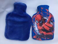 2 Boots Hot Water Bottles with covers