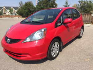 2010 Honda Fit LX, Auto, 3M, CarProof, Inspection, only 68700km