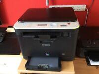 Samsung CLX - 3185 color laser printer multifunction