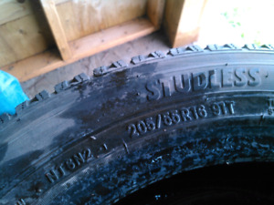 good 205/55/16 studless winter tires