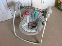Ingenuity Cozy Kingdom Swing - baby swing