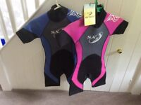 WET SUITS. For KIDS. PAIR for £10 or. £6.0 each