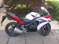 Honda CBR 125cc motorbike