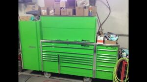 Snap On Tool box, extreme Green,