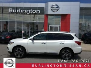 2017 Nissan Pathfinder PLATINUM, NAVi, ACCIDENT FREE !