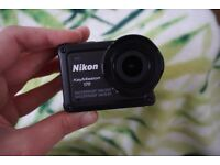 Brand New NIKON KeyMission 170 4K Ultra HD Action Camcorder - Black