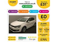 Volkswagen Polo Match FROM £31 PER WEEK!