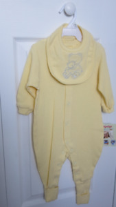 New w/Tag 6 mths. 2 Pc. Snugabye Convert-a-foot Outfit Pd. $15
