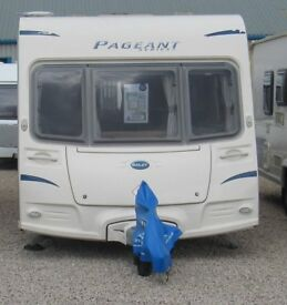 BAILEY PAGEANT SERIES 7 BRETAGNE 2009 6 BERTH CARAVAN*REDUCED WAS...£9950*MOTOR MOVER*AWNING*