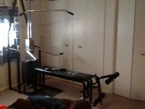 Home work out bench