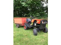 Westwood t1600 ride on mower/ tractor