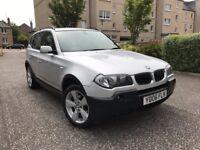2006 DIESEL BMW X3-4X4 BMW WITH FULL SERVICE HISTORY-6 SPEED GEARBOX-LONG MOT-NO X5,X1,X6,CRV,Q3,Q5
