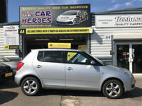 2010 SKODA FABIA (2) 1.4 TDI PD DIESEL £30 TAX *12 MONTH (AA) WARRANTY INCLUDED