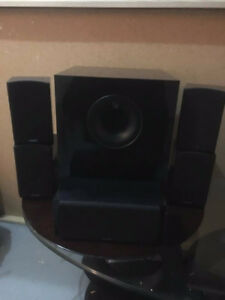 Energy 5.1 Home Theater Speakers + Yamaha Receiver
