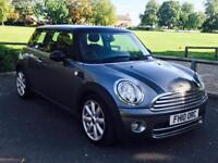 MINI COOPER D 'GRAPHITE EDITION' (2010) '1.6 DIESEL - 6 SPEED - LEATHER - STOP / START' (NO VAT)